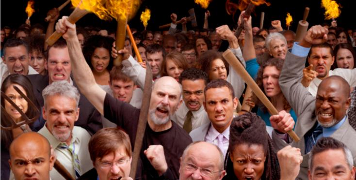 an-angry-mob